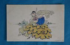 c1920 Fine Art Nouveau Postcard Mela Koehla Postally Used Rhine Army NACB Barnet