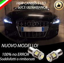 COPPIA LUCI DI POSIZIONE LED AUDI TT H6W CANBUS NUOVO MODELLO 100% NO ERROR