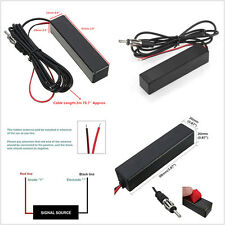 Car SUV Truck Pickup 12V Stereo Radio AM/FM Electronic Hidden Amplified Antenna