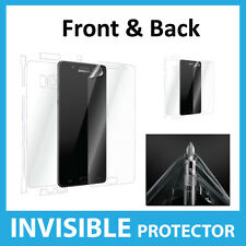 Samsung Galaxy Note 7 Screen Protector INVISIBLE Shield Full FRONT AND BACK