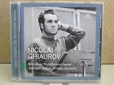 Nicolai Ghiaurov - Great Singers Live CD (Pretre/Antonini) 2011 Gounod/Verdi etc