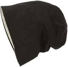 Chapeaux noirs coton mélangé, taille unique pour femme