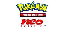 ⭐️ /111 Pick your card NEO GENESIS set Nintendo card WotC Vtg - Pokemon 2000 🎏