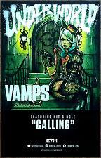 VAMPS Underworld Ltd Ed New RARE Tour Poster +FREE Hard Rock/Metal/Alt Poster!