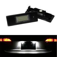 ECLAIRAGE PLAQUE LED BMW SERIE 1 E81 E87 116i 116d 118i 118d FEUX BLANC XENON