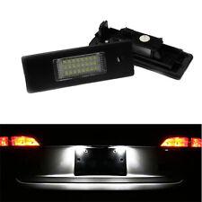 FEUX ECLAIRAGE DE PLAQUE LED BLANC XENON BMW SERIE 1 E81 E87 116i 116d 118i 118d
