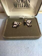 Nolan Miller's Darling Butterfly Earrings S70a+