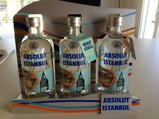 Brand New Absolut Vodka Istanbul 700ml bottle, (with Neck tag!)