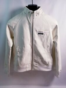 Womens Members Only White Racing Jacket- Size XS FREE SHIPPING