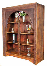 antik Massivholz Regal Bücherregal afghanistan shelf cabinet bauernschrank swat