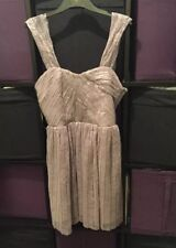 BNWT Mink Princess Style topshop Dress 10 Occasion/wedding/Christening.