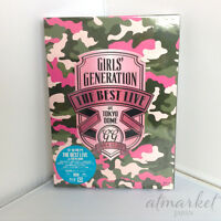 SNSD GIRLS' GENERATION THE BEST LIVE at TOKYO DOME Blu-Ray Photobook JAPAN F/S