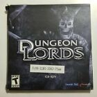 Dungeon Lords Pc Cd-rom Computer Game 3 Discs 2005 Heuristic Park