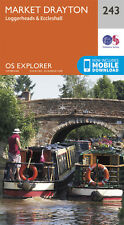 Market Drayton Explorer Map 243 - New - OS - Ordnance Survey