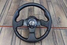 VW Golf Jetta Vento Mk3 Corrado Sport Perforated Leather Steering Wheel 320MM