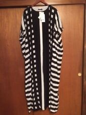 NWT Women's Anthropologie Marimekko Tenerife Korppi Maxi Dress Medium Silk