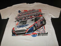 BRISTOL MOTOR SPEEDWAY Americas Concrete Colosseum Auto Racing T-Shirt New LARGE