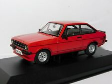 VANGUARDS FORD ESCORT MK II RS MEXICO SIGNAL RED 1/43 VA12615