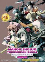 Mahou Shoujo Tokushusen Asuka(1-12End) Ship From USA