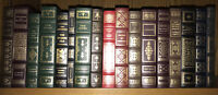 Franklin Library! Fake Leather, 17 Volumes (Not Mint Some Have Some Damage)