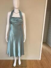 Designer Maticevski Sweethearts Turquoise Evening Cocktail Style Dress Size 10