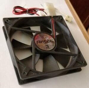 NEW 120mm Antec TriCool 3-Speed (Switchable fan speed) quiet/'silent' case fan