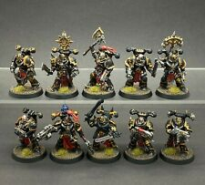 WARHAMMER 40,000 CHAOS SPACE MARINES BLACK LEGION SQUAD KILL TEAM PAINTED