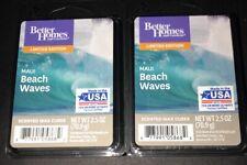 Better Homes & Gardens MAUI BEACH WAVES Wax Cubes 2 Packs