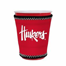 Nebraska Corn Huskers Kup Holder Coolie for Solo Cup, Pint Glass, Coffee Kolder
