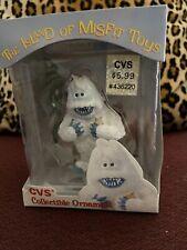 Cvs Enesco 1999 The Island of Misfit Toys - Abominable Snowman Ornament Nib