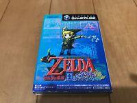 Legend of Zelda: The Wind Waker Japan Gamecube Nintendo GC with Box,manual Z01