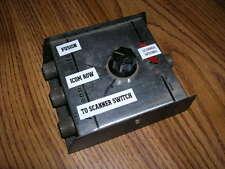 3 position antenna coax switch scanner ham radio HF VHF 70CM