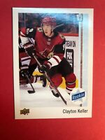 2017-18 Upper Deck Collector Care Rookie #9 Clayton Keller Rare RC Insert