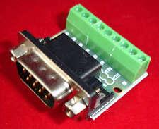 DB9 to Screw Terminal Convert Prototype Board Adaptador