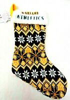 "OAKLAND ATHLETICS 17"" Christmas KNIT STOCKING MLB Forever Collectibles BRAND NEW"