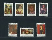 B140  Nicaragua 1994  art contemporary paintings   7v.      MNH