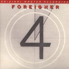 4 [Digipak] by Foreigner (CD, 2013, Mobile Fidelity Sound Lab)