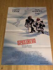 COMEDY TEAM CHASE /& AYKROYD spies like us MOVIE POSTER /'85 screwballs 24X36
