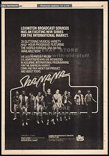 SHA NA NA__Original 1977 Trade print AD / poster__TV series promo__Grease__music