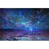 Full 5D Drill Starry Sky Diamond Painting Cross Stitich Stitch Kits Home Decor
