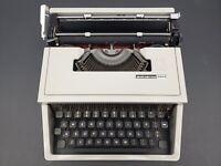 Olivetti Underwood Dora- Vintage Typewriter- Made In Italy