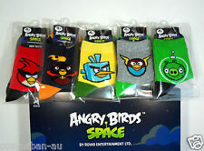 5p Authentic Angry Birds Space2 Socks Cartoon Fashion Toddler Boy Girl Kid Women
