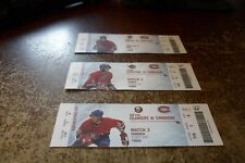 montreal canadiens hockey club ticket lot of 12 2007-2008-2010 +hall of fame nhl