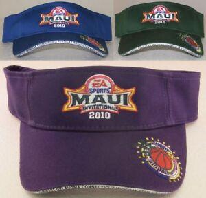 2010 EA Sports Maui Invitational Adjustable Visor Hat By adidas