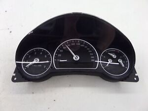 Saab 9-3X Instrument Cluster Speedo Gauges 160K KMS KPH 12824535 2.0T 4 Cyl XWD