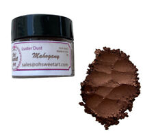 MAHOGANY  Luster Dust Food Fondant Color Cake Decorating Gum Paste 4 grams