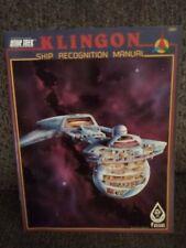 FASA Star Trek RPG - Klingon Ship Recognition Manual - 1985