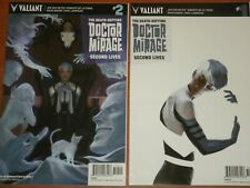 Valiant Comics:  The Death-Defying Doctor Mirage 'Second Lives' #1 - #4 Set 2015