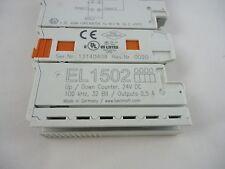 BECKHOFF EL1502 Up/Down Counter, 24V DC 32bit/ Output 0.5A
