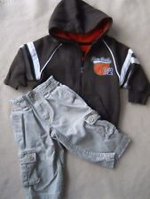 Toddler boys Slam Dunk hoodie sweatshirt & Levi's cargo jeans / size 12 months